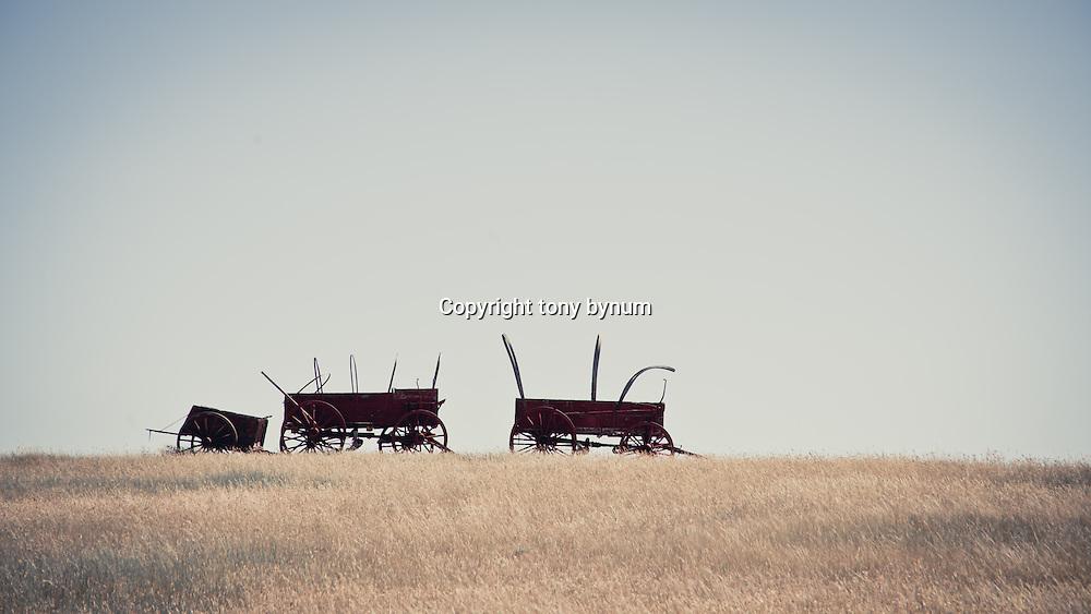 abandon waggons on the prairie