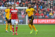 Adama Traore (37) of Wolverhampton Wanderers during the The FA Cup 5th round match between Bristol City and Wolverhampton Wanderers at Ashton Gate, Bristol, England on 17 February 2019.