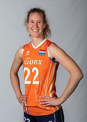 10-05-2018 NED: Team shoot Dutch volleyball team women, Arnhem<br /> Nicole Koolhaas #22 of Netherlands