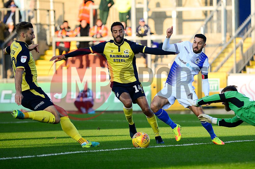 Liam Sercombe of Bristol Rovers - Mandatory by-line: Dougie Allward/JMP - 17/11/2018 - FOOTBALL - Memorial Stadium - Bristol, England - Bristol Rovers v Scunthorpe United - Sky Bet League One