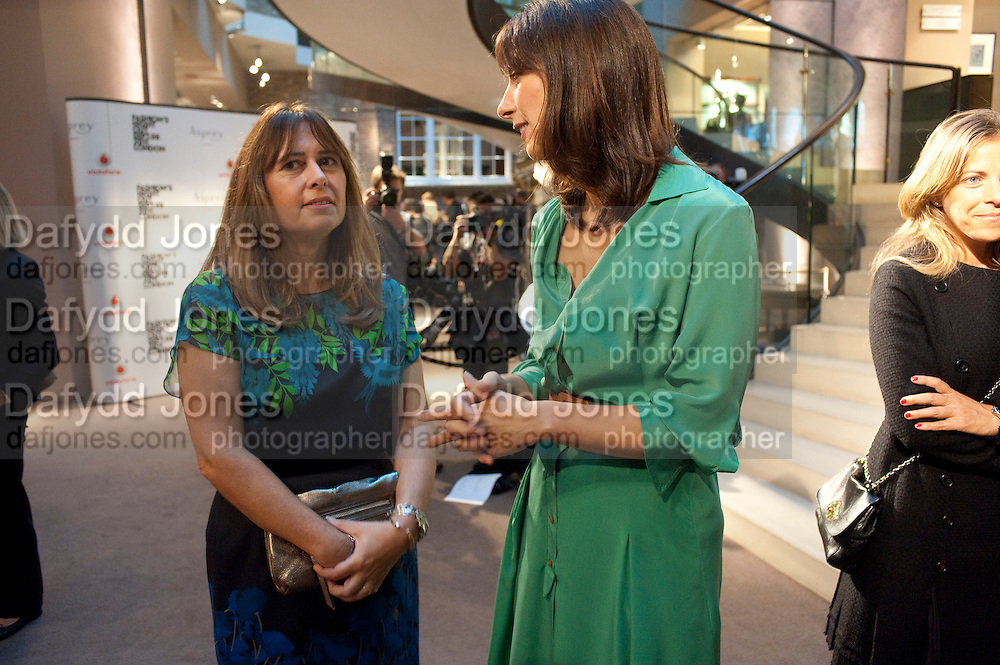 ALEXANDRA SHULMAN; SAMANTHA CAMERON,  Vogue Fashion night out.- Alexandra Shulman and Paddy Byng are host a party  to celebrate the launch for FashionÕs Night Out At Asprey. Bond St and afterwards in the street. London. 8 September 2011. <br />  <br />  , -DO NOT ARCHIVE-© Copyright Photograph by Dafydd Jones. 248 Clapham Rd. London SW9 0PZ. Tel 0207 820 0771. www.dafjones.com.<br /> ALEXANDRA SHULMAN; SAMANTHA CAMERON,  Vogue Fashion night out.- Alexandra Shulman and Paddy Byng are host a party  to celebrate the launch for Fashion's Night Out At Asprey. Bond St and afterwards in the street. London. 8 September 2011. <br />  <br />  , -DO NOT ARCHIVE-© Copyright Photograph by Dafydd Jones. 248 Clapham Rd. London SW9 0PZ. Tel 0207 820 0771. www.dafjones.com.