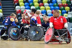 FRA v GBR at the 2015 BT World Wheelchair Rugby Challenge, Copper Box, Olympic Park, London - 5th - 6th place playoff.