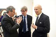 DAVID PELTZ; TIMOTHY TAYLOR; ALEX KATZ, Alex Katz opening. Timothy Taylor gallery. London. 3 March 2010.