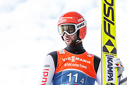 24.02.2019, Bergiselschanze, Innsbruck, AUT, FIS Weltmeisterschaften Ski Nordisch, Seefeld 2019, Skisprung, Herren, Teambewerb, Probesprung, im Bild Markus Eisenbichler (GER) // Markus Eisenbichler of Germany during the trial jump for the men's skijumping team competition of FIS Nordic Ski World Championships 2019 at the Bergiselschanze in Innsbruck, Austria on 2019/02/24. EXPA Pictures © 2019, PhotoCredit: EXPA/ Stefanie Oberhauser
