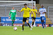 Burton Albion midfielder Callum Reilly (17) on the ball during the EFL Cup match between Burton Albion and Bury at the Pirelli Stadium, Burton upon Trent, England on 10 August 2016. Photo by Aaron  Lupton.