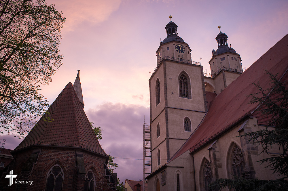 Photographs from the Town and Parish Church of St. Mary's on Thursday, May 7, 2015, in Wittenberg, Germany. LCMS Communications/Erik M. Lunsford