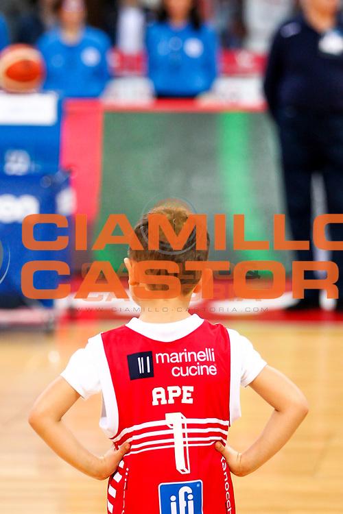 Mascotte VL Pesaro<br /> Consultinvest VL Pesaro - Red October Cant&ugrave;<br /> Lega Basket Serie A 2016/2017<br /> Pesaro 0/02/2017