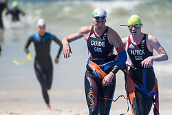 PATRICK Alison, SMITH Hazel - Guide, GBR, Para-Triathlon, PT5 at Rio 2016 Paralympic Games, Brazil