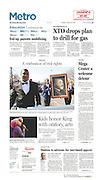 The Dallas Morning News -Metro, B1, January 22, 2013.