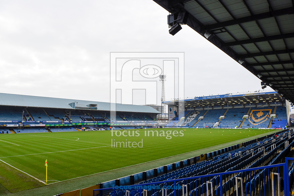 General view of Fratton Park before the Sky Bet League 1 match between Portsmouth and Northampton Town, Portsmouth<br /> Picture by Alex Burstow/Focus Images Ltd 07814032530<br /> 30/12/2017