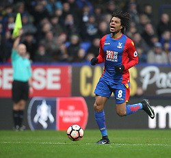Loic Remy of Crystal Palace looks dejected as he is caught offside - Mandatory by-line: Jack Phillips/JMP - 07/01/2017 - FOOTBALL - Macron Stadium - Bolton, England - Bolton Wanderers v Crystal Palace - FA Cup Third Round