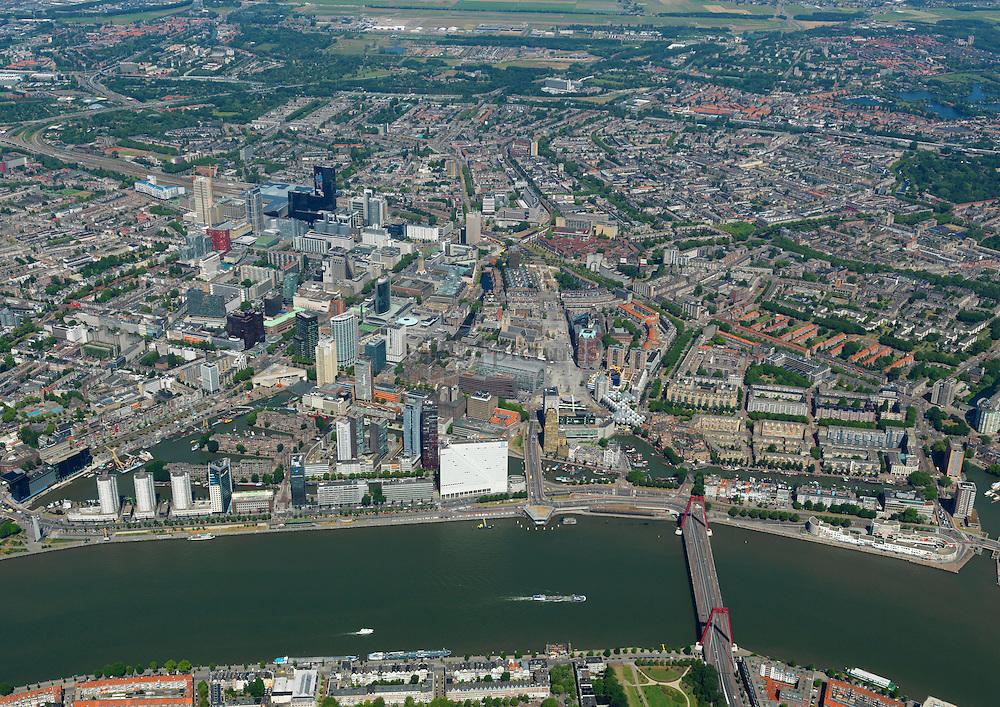Stadsdriehoek is het oude centrum van de stad Rotterdam