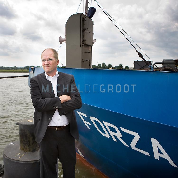 Diederic van Keulen, directeur van Q-Shipping op June 18, 2008 in Alblasserdam, The Netherlands.  {photo by Michel de Groot)