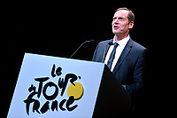 Christian PRUDHOMME (Fra) TDF Director ASO   during the presentation of  103th Tour de France 2016, in Paris, France, on October 20, 2015. Photo Tim de Waele / DPPI