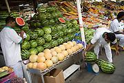 Deira. Shindagha Market. Fish Souq. Melons.