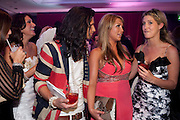 ESSEX MEETS CHELSEA; OLLIE LOCKE; LAUREN GOODGER;  CHESKA HULL; , The London Bar and Club awards. Intercontinental Hotel. Park Lane, London. 6 June 2011. <br /> <br />  , -DO NOT ARCHIVE-© Copyright Photograph by Dafydd Jones. 248 Clapham Rd. London SW9 0PZ. Tel 0207 820 0771. www.dafjones.com.