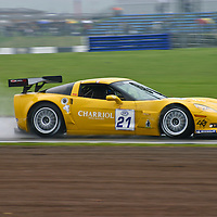 Driving the #21 Chevrolet Corvette C6 Z06.R GT3 (Callaway), the French pairing of Philippe Charriol/Christopher Campbell finished 27th in Race 1 and 29th in Race 2, FIA GT Silverstone 6H, 2006