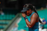 Sloane STEPHENS (USA) during the Roland Garros French Tennis Open 2018, day 12, on June 7, 2018, at the Roland Garros Stadium in Paris, France - Photo Stephane Allaman / ProSportsImages / DPPI