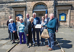 Environment Secretary, Roseanna Cunningham MSP, was in Portobello today to meet the Action Porty community right-to-buy group to mark the Scottish Government giving consent to proceed with the first community right to buy in an urban area. Pictured:<br /> <br /> <br /> &copy; Jon Davey/ EEm