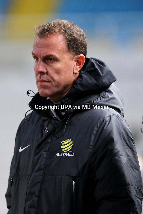 Fifa Womans World Cup Canada 2015 - Preview //<br /> Cyprus Cup 2015 Tournament ( Gsp Stadium Nicosia - Cyprus ) - <br /> Australia vs England 0-3   //  Alen Stajcic - Coach of Australia