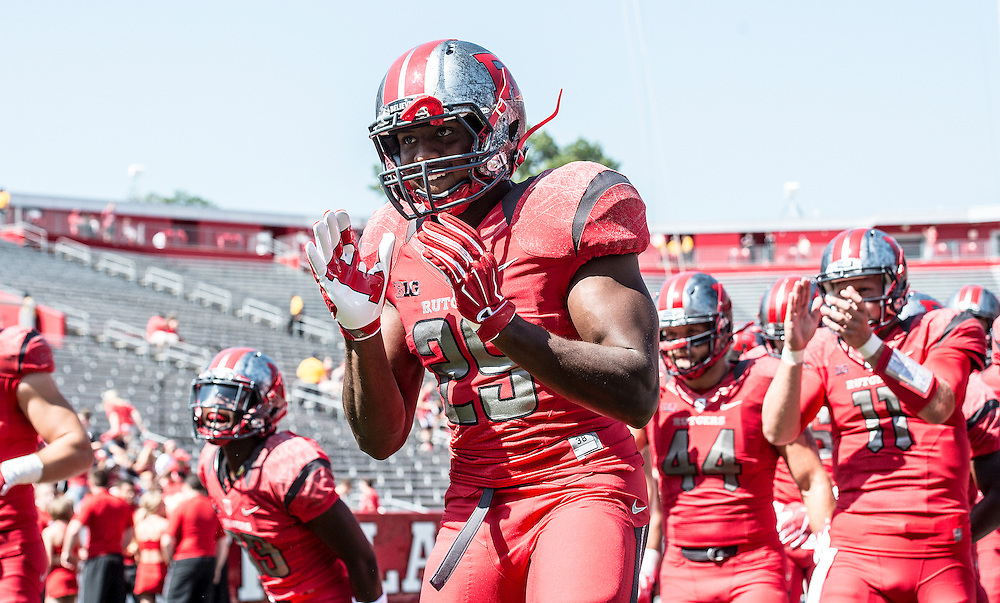 The Rutgers Scarlet Knights football team takes on Norfolk State Spartans at High Point Solutions Stadium on Saturday September 5, 2015.<br />