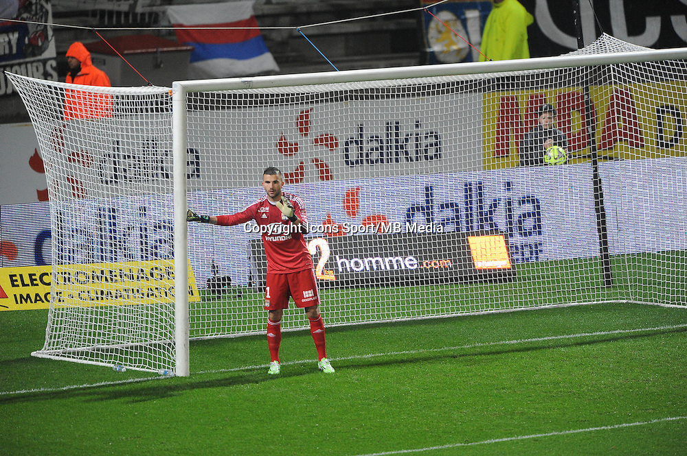 Anthony LOPES   - 04.12.2014 - Lyon / Reims - 16eme journee de Ligue 1  <br />