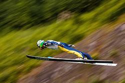 Rok Justin of Slovenia during Ski Jumping Continental Cup in Kranj, Slovenia Photo by Grega Valancic / Sportida