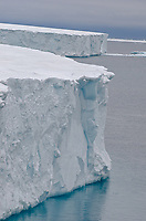 The Brasvellbreen tongue of the Austfonna ice cap on Nordaustlandet in the Svalbard archipelago, Norway.
