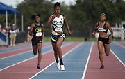 Jun 23, 2019; Miramar, FL, USA; Kayla Davis wins the women's 400m in 51.28 during the USATF U20 Championships at Ansin Sports Complex.