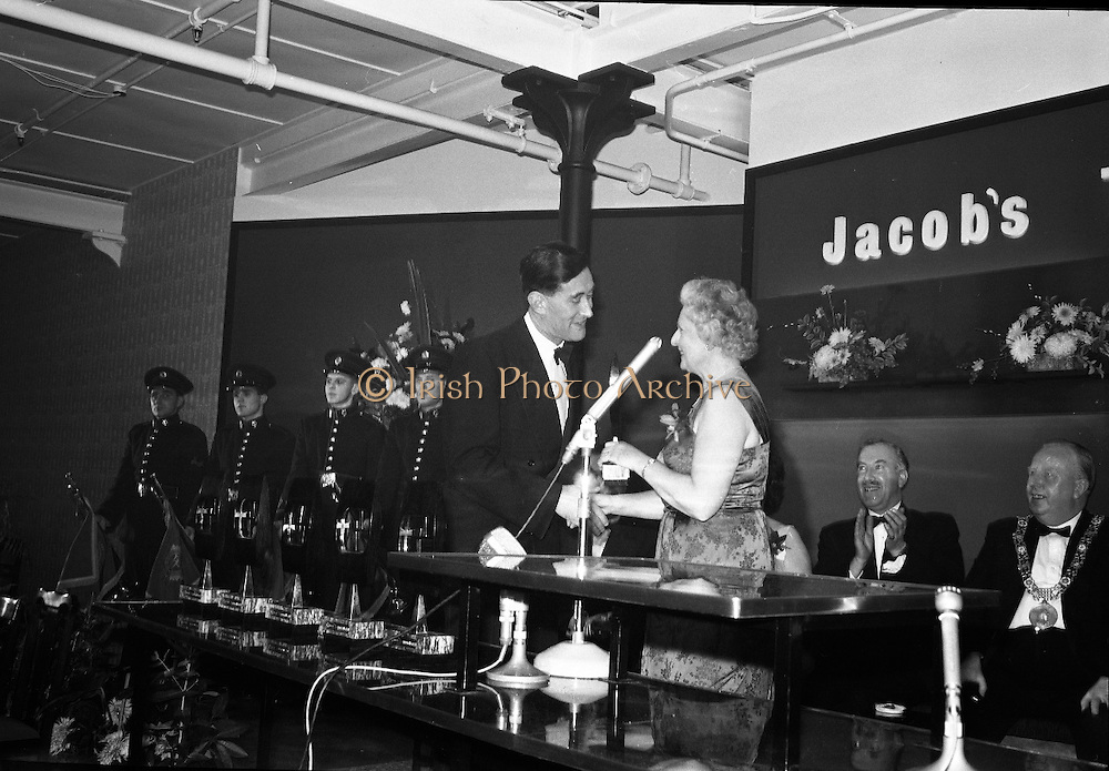 Winners at the First Annual Jacobs Television Awards..04.12.1962
