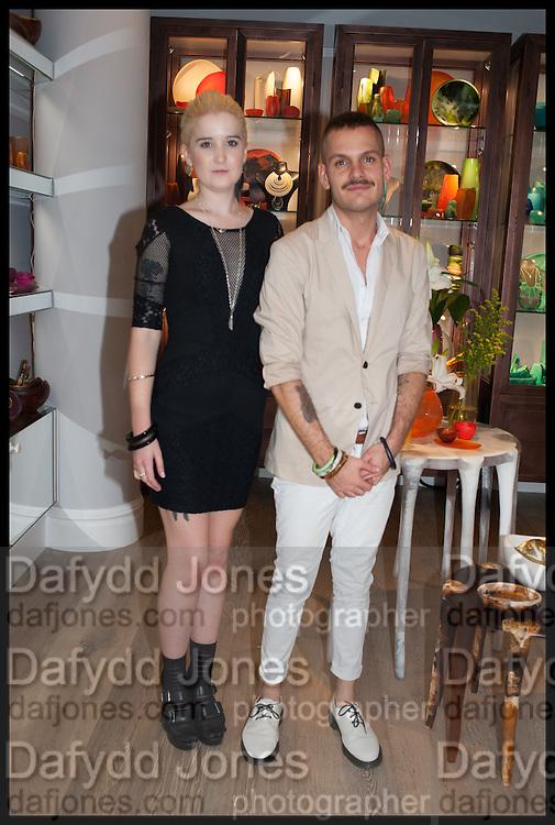 MILLIE WATSON; JOSEPH PORPIGLIA, Dinosaur Designs launch of their first European store in London. 35 Gt. Windmill St. 18 September 2014