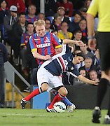Aki Rihillhti and Beto Carranza - Crystal Palace v Dundee - Julian Speroni testimonial match at Selhurst Park<br /> <br />  - © David Young - www.davidyoungphoto.co.uk - email: davidyoungphoto@gmail.com