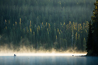 Little Cultus Lake. Cascade Lakes Highway in Central Oregon.