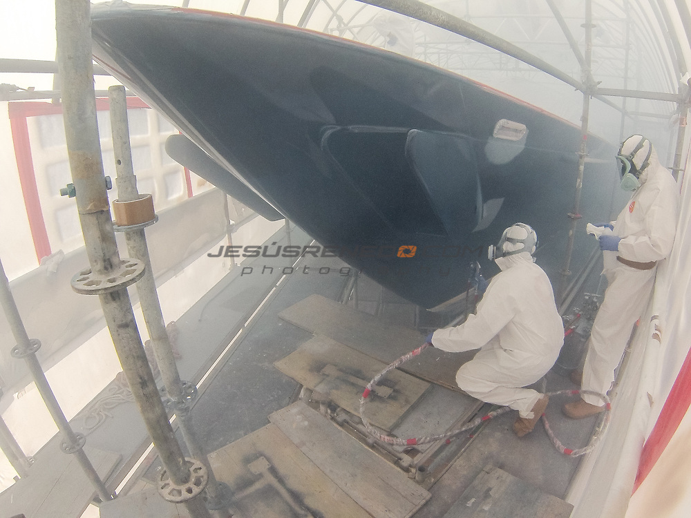 S/Y Surama refitting octb-nov 2014
