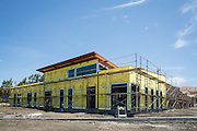 Construction progress at Milpitas Unified School District and San Jose Evergreen Community College District Community College Extension photographed in Milpitas, California, on June 16, 2016. (Stan Olszewski/SOSKIphoto)