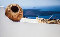 View of the caldera from Santorini, Greece