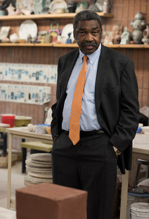 Bill Strickland at the Manchester Craftsmen Guild in Pittsburgh.