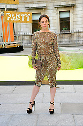 Talulah Harlech attends the preview party for The Royal Academy of Arts Summer Exhibition 2013 at Royal Academy of Arts on June 5, 2013 in London, England. Photo by Chris Joseph / i-Images.