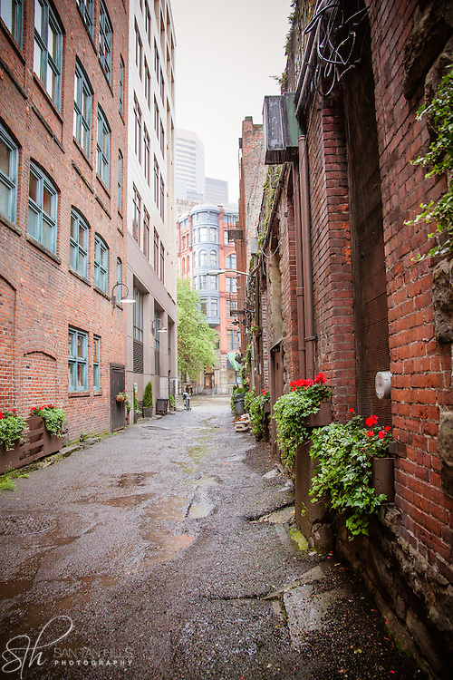 Old alleyway near Pioneer Square - Seattle, WA