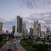 PANAMA CITY / CIUDAD DE PANAMA<br /> Photography by Aaron Sosa.<br /> Nocturnal Photography / Fotografía Nocturna<br /> Cinta Costera, Panama City - Panama 21-12-2014<br /> (Copyright © Aaron Sosa)