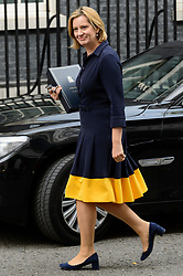 © Licensed to London News Pictures. 21/09/2017. London, UK. Home Secretary Amber RUDD arrives for a cabinet meeting in Downing Street. Photo credit: Ray Tang/LNP