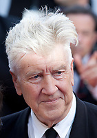 Director David Lynch arriving to the Closing Ceremony and awards at the 70th Cannes Film Festival Sunday 28th May 2017, Cannes, France. Photo credit: Doreen Kennedy