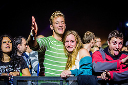 Niet during music festival Schengen fest od / 1. August in Vinica, Slovenia.  Photo by Grega Valancic / Sportida