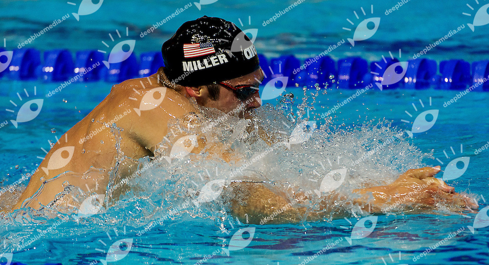 MILLER Cody United States USA<br /> 200 breaststroke men<br /> 27th Summer Universiade <br /> 5 - 17 July 2013 Kazan Tatarstan Russia<br /> Day 08 Swimming finals<br /> Photo G. Scala/Insidefoto/Deepbluemedia.eu