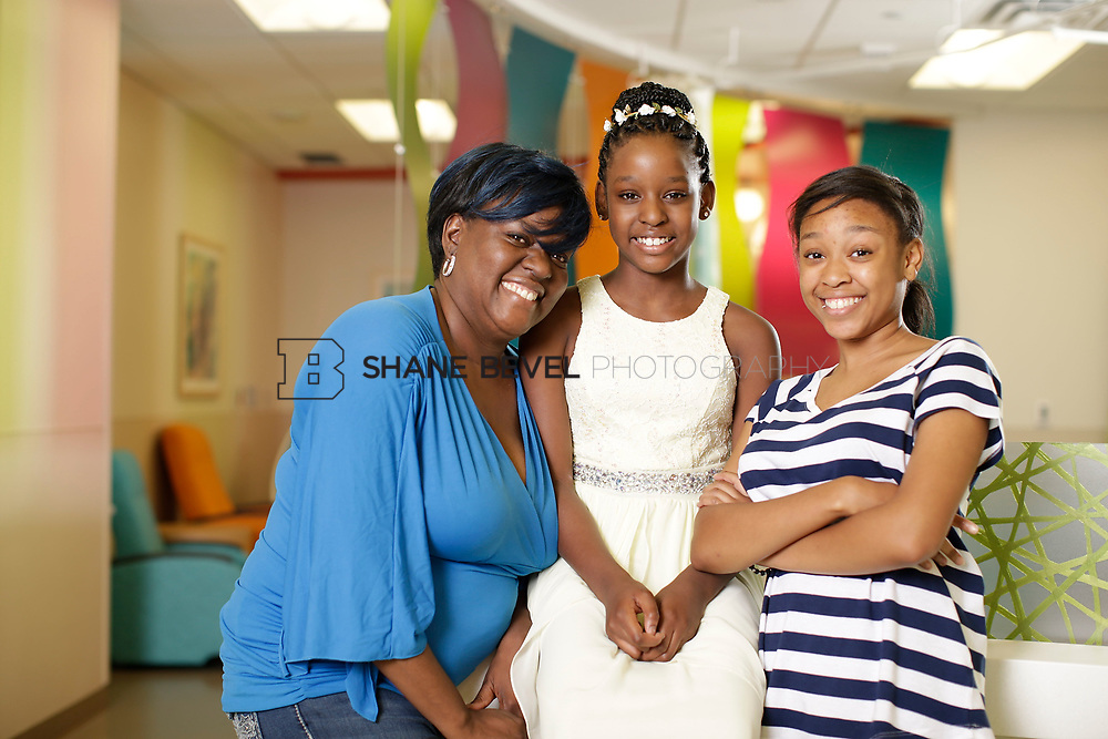 5/26/17 3:22:13 PM --  Sickle Cell Patients photographed for the St. Jude brochure. <br /> <br /> Photo by Shane Bevel