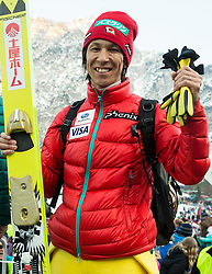 Noriaki Kasai of Japan after the Ski Flying Individual Competition at Day 2 of FIS World Cup Ski Jumping Final, on March 20, 2015 in Planica, Slovenia. Photo by Vid Ponikvar / Sportida