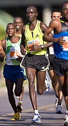 Ottawa, Ontario ---25/05/08--- Enock Mitei runs during the ING Ottawa Marathon, May 26, 2008..GEOFF ROBINS /