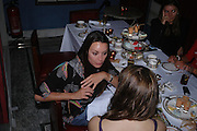 Tamara Mellon. 'Pret-a-Portea'M.A.C. launches High Tea collection with British fashion designers. Berkeley Hotel. 17 January 2004. ONE TIME USE ONLY - DO NOT ARCHIVE  © Copyright Photograph by Dafydd Jones 66 Stockwell Park Rd. London SW9 0DA Tel 020 7733 0108 www.dafjones.com