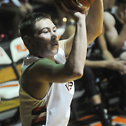 New Hanover's Blake Smith shoots against Ashley Friday December 19, 2014 at New Hanover High School in Wilmington, N.C. (Jason A. Frizzelle)