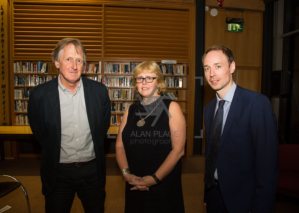 14.10.2016                 <br /> A new research centre focussing on Irish and European history and culture was launched in Limerick.<br /> <br /> Pictured at the event were, Prof. Tom Lodge, Dean, Arts Humanities and Social Sciences UL, Prof. Jane Ohlmeyer, Erasmus Smith&rsquo;s Chair of Modern History, Trinity College Dublin, Director of the Trinity Long Room Hub, and Chair of the Irish Research Council and Dr. Richard Kirwan, Dept. History UL.<br /> <br /> The Centre for Early Modern Studies brings together experts from University of Limerick and Mary Immaculate College to further the study of the history and culture of the 16th, 17th and 18th centuries. <br /> <br /> The Centre for Early Modern Studies was launched  with an inaugural lecture by Professor Jane Ohlmeyer, Erasmus Smith&rsquo;s Chair of Modern History, Trinity College Dublin, Director of the Trinity Long Room Hub, and Chair of the Irish Research Council. Professor Ohlmeyer spoke on the topic of &lsquo;Early Modern Ireland and the Wider World&rsquo;.<br /> Picture: Alan Place